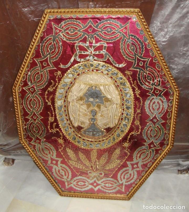 ANTIGUO RELICARIO DE GRAN TAMAÑO. (95 CM X 71 CM) (Antigüedades - Religiosas - Relicarios y Custodias)