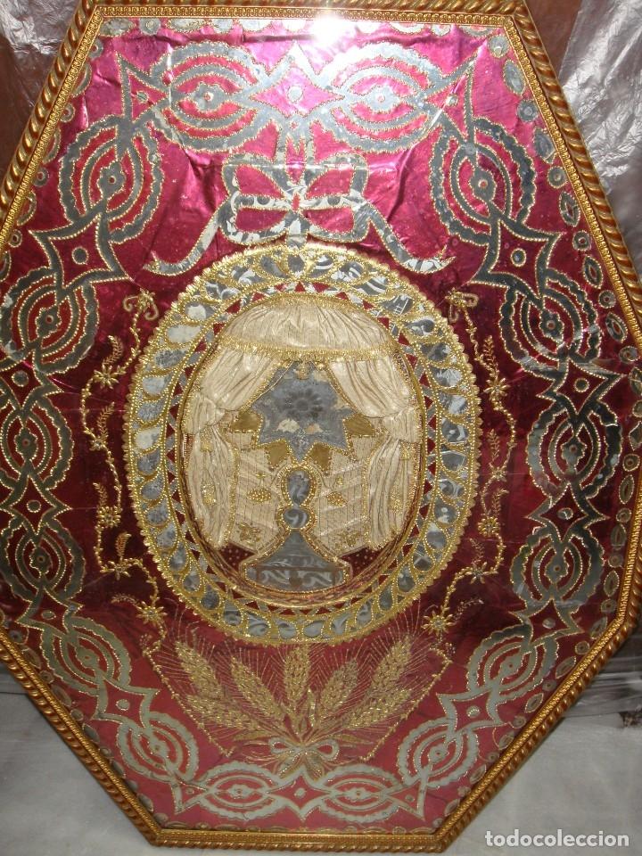 Antigüedades: Antiguo relicario de gran tamaño. (95 cm x 71 cm) - Foto 3 - 183070675
