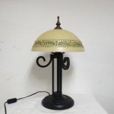 Antigüedades: LAMPARA DE SOBREMESA. Lote 183074161