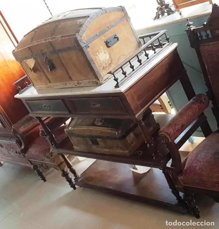APARADOR ALFONSINO (Antigüedades - Muebles Antiguos - Aparadores Antiguos)