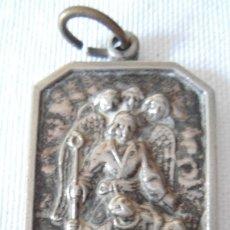 Antigüedades: ANTIGUA MEDALLA DE ALPACA DE ARCANGEL SAN GABRIEL. Lote 183077707