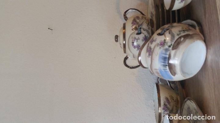 Antigüedades: EXPLENDIDO JUEGO DE THE O CAFE JAPONES ES ORIGINAL ESTA SELADO LA CARA JAPONESA DENTRO DA TAZA - Foto 6 - 183087771