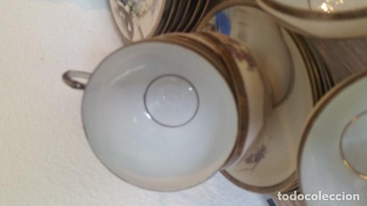Antigüedades: EXPLENDIDO JUEGO DE THE O CAFE JAPONES ES ORIGINAL ESTA SELADO LA CARA JAPONESA DENTRO DA TAZA - Foto 19 - 183087771