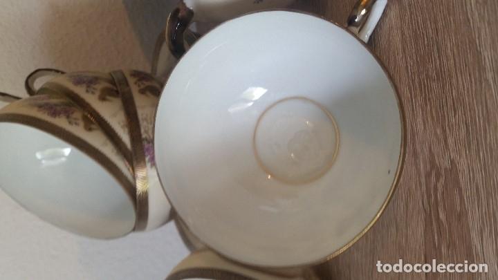 Antigüedades: EXPLENDIDO JUEGO DE THE O CAFE JAPONES ES ORIGINAL ESTA SELADO LA CARA JAPONESA DENTRO DA TAZA - Foto 20 - 183087771