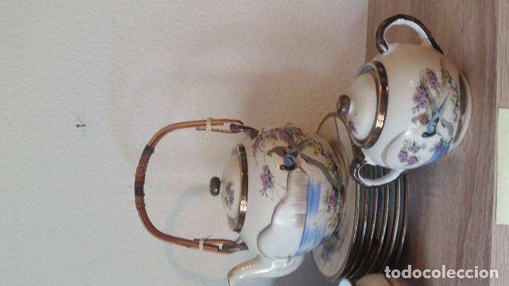 Antigüedades: EXPLENDIDO JUEGO DE THE O CAFE JAPONES ES ORIGINAL ESTA SELADO LA CARA JAPONESA DENTRO DA TAZA - Foto 23 - 183087771