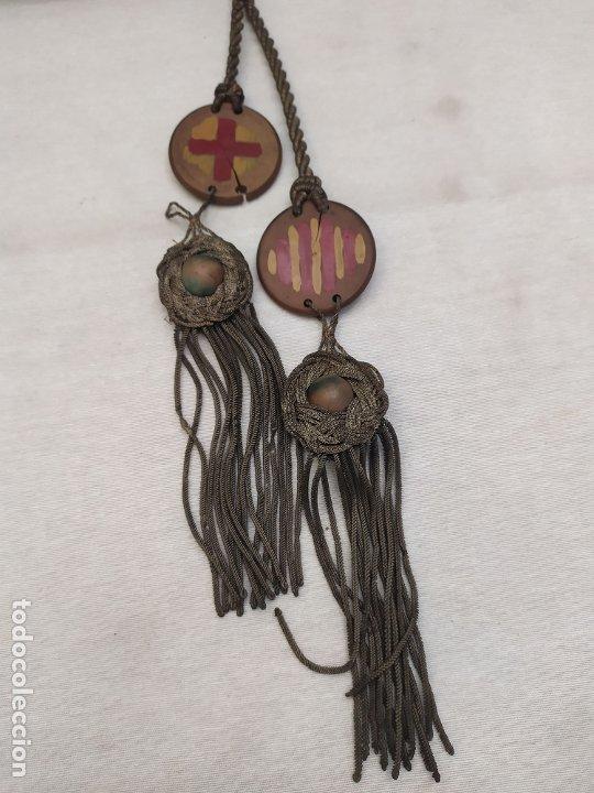 Antigüedades: Sant Jordi. Ceramica de Quart (Girona). s.XX. 36.3cm - Foto 4 - 183090641