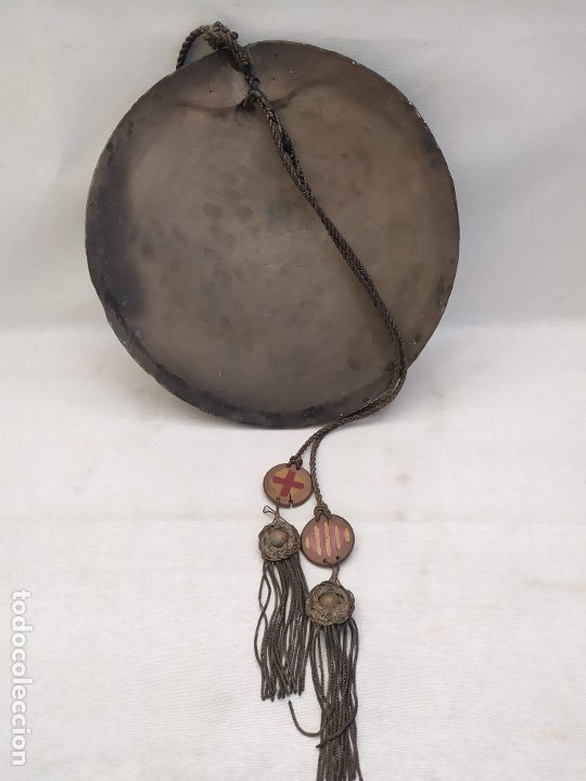 Antigüedades: Sant Jordi. Ceramica de Quart (Girona). s.XX. 36.3cm - Foto 6 - 183090641