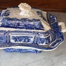 Antigüedades: FABULOSA LEGUMBRERA DE SARGADELOS. Lote 183093312
