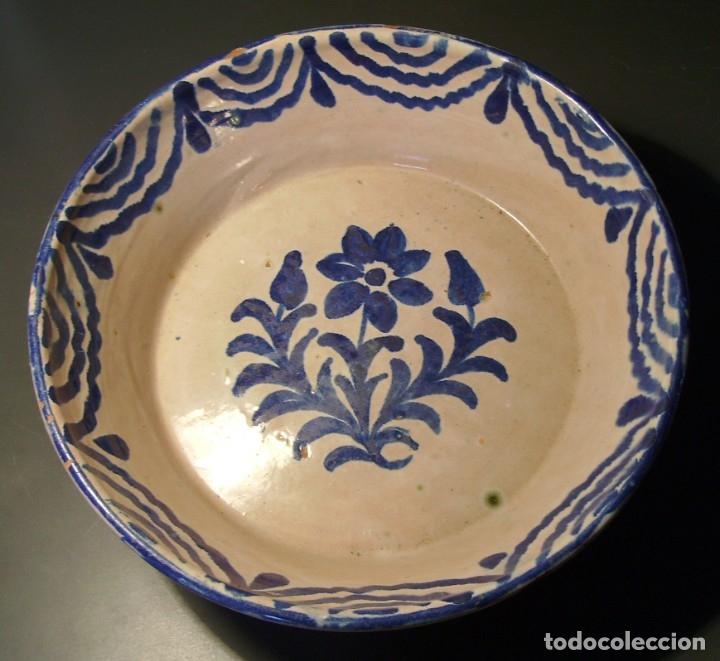 LEBRILLO CERÁMICA DE FAJALAUZA (Antigüedades - Porcelanas y Cerámicas - Fajalauza)