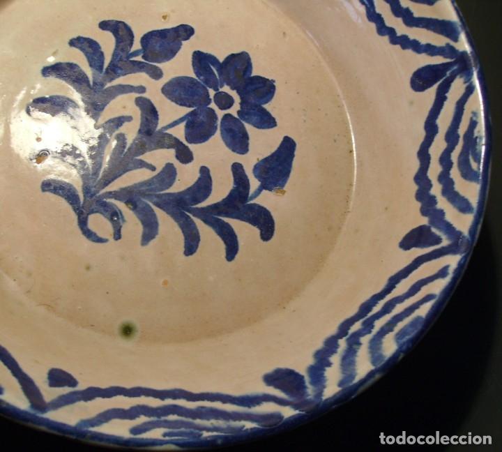 Antigüedades: LEBRILLO CERÁMICA DE FAJALAUZA - Foto 5 - 183096272