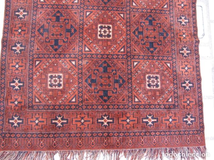 Antigüedades: Antigua alfombra Kurda Belucha. Nudos. Tejida a mano. Pura lana - Foto 2 - 183172217