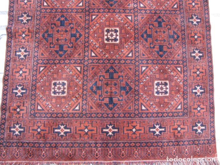 Antigüedades: Antigua alfombra Kurda Belucha. Nudos. Tejida a mano. Pura lana - Foto 5 - 183172217