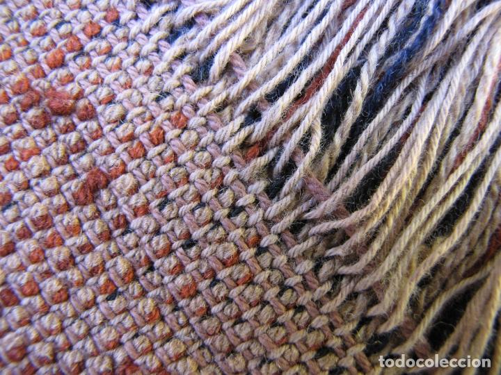 Antigüedades: Antigua alfombra Kurda Belucha. Nudos. Tejida a mano. Pura lana - Foto 11 - 183172217