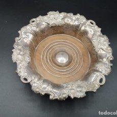 Antigüedades: PLATO EN PLATA REPUJADO. ROCOCO. Lote 183174115