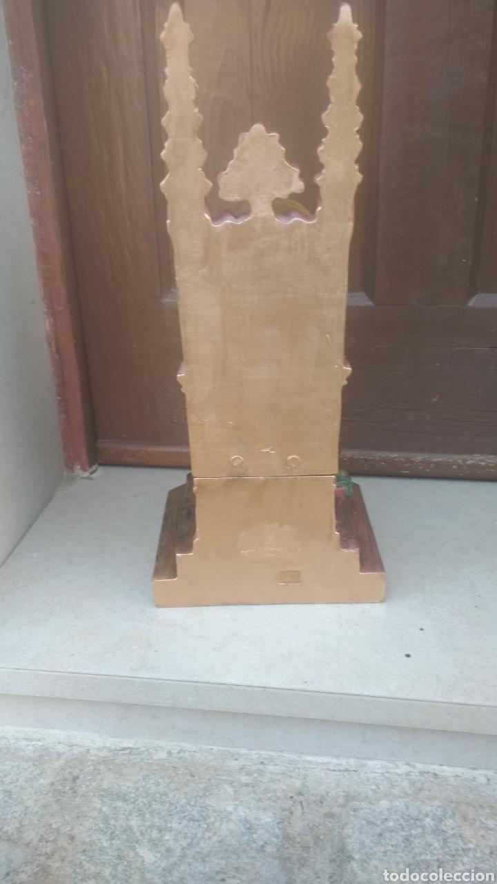 Antigüedades: Corazon de Jesús entronizado. - Foto 5 - 183179636