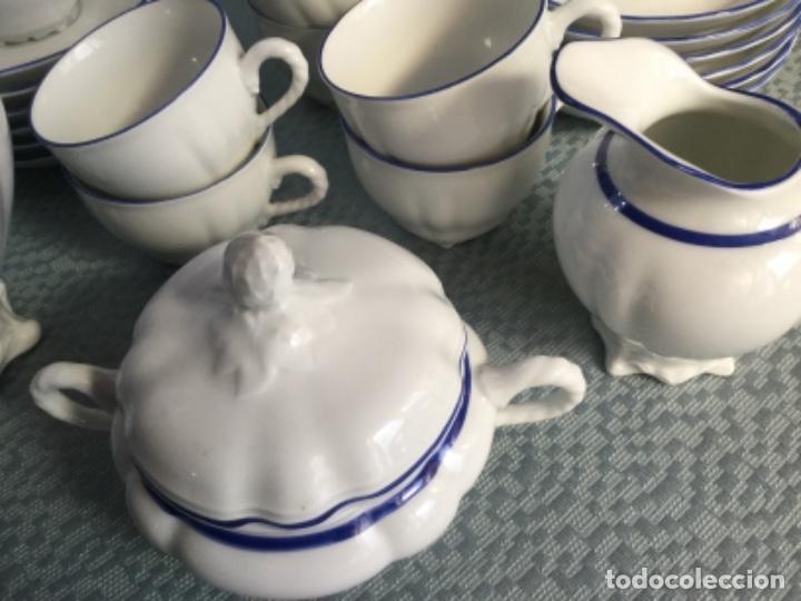 Antigüedades: Juego de café de la firma Bidasoa, porcelana fina - Foto 11 - 183185216