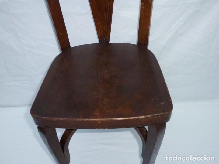 Antigüedades: Antigua silla de tamaño mediano. - Foto 4 - 183190261