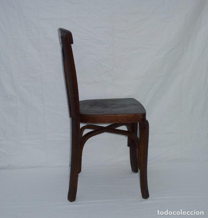 Antigüedades: Antigua silla de tamaño mediano. - Foto 6 - 183190261