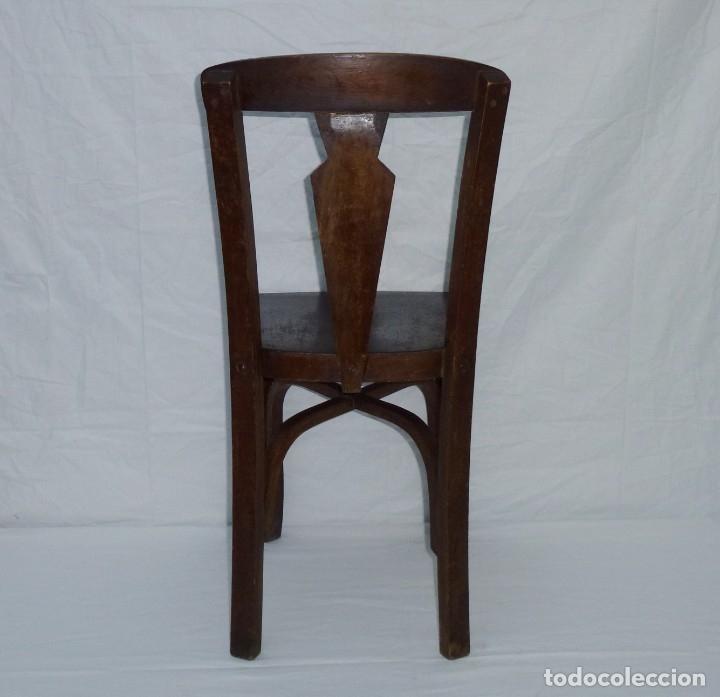Antigüedades: Antigua silla de tamaño mediano. - Foto 7 - 183190261