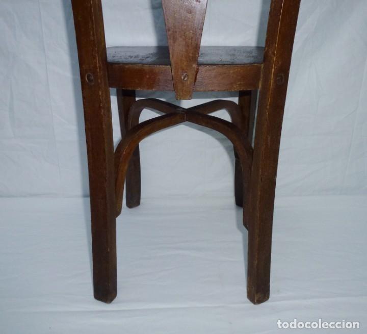 Antigüedades: Antigua silla de tamaño mediano. - Foto 8 - 183190261