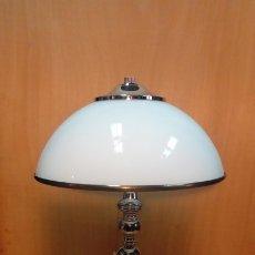 Antigüedades: LAMPARA DE MESA ART DECO-. Lote 183192857