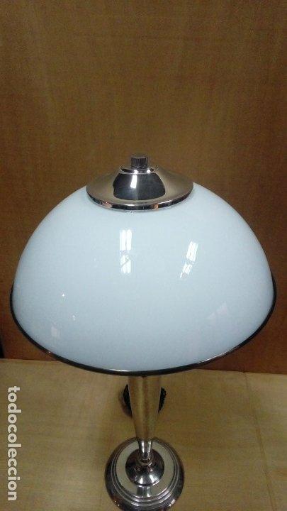 Antigüedades: lampara de mesa art deco- - Foto 2 - 183192857