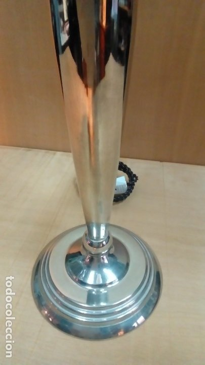 Antigüedades: lampara de mesa art deco- - Foto 4 - 183192857