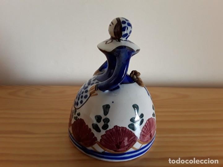Antigüedades: Campana cerámica Puente - Foto 2 - 183195600