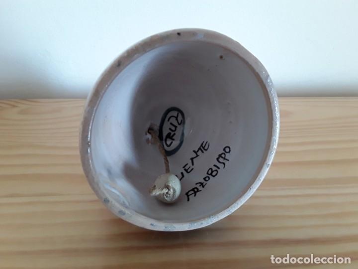 Antigüedades: Campana cerámica Puente - Foto 5 - 183195600