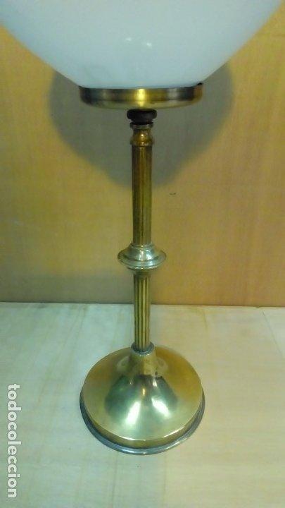 Antigüedades: lampara de mesa art deco- - Foto 2 - 183196213