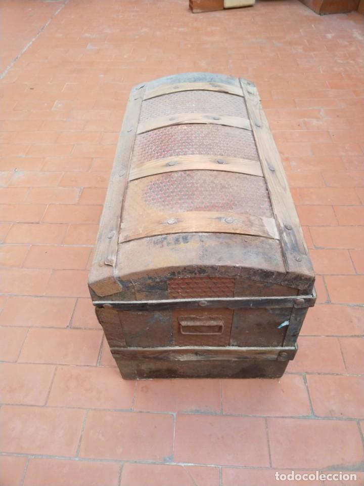 Antigüedades: baúl madera para restaurar - Foto 2 - 183199152