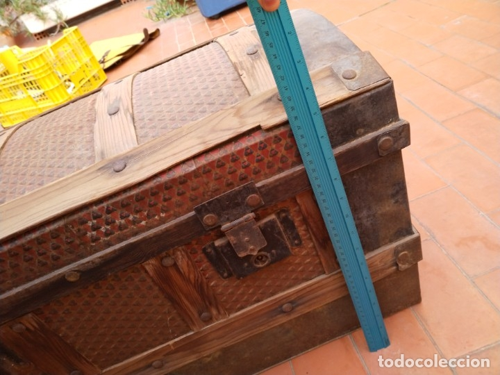 Antigüedades: baúl madera para restaurar - Foto 3 - 183199152