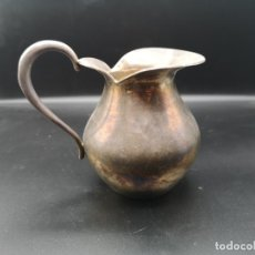 Antigüedades: JARRA DE PLATA ESPAÑOLA. Lote 183209468