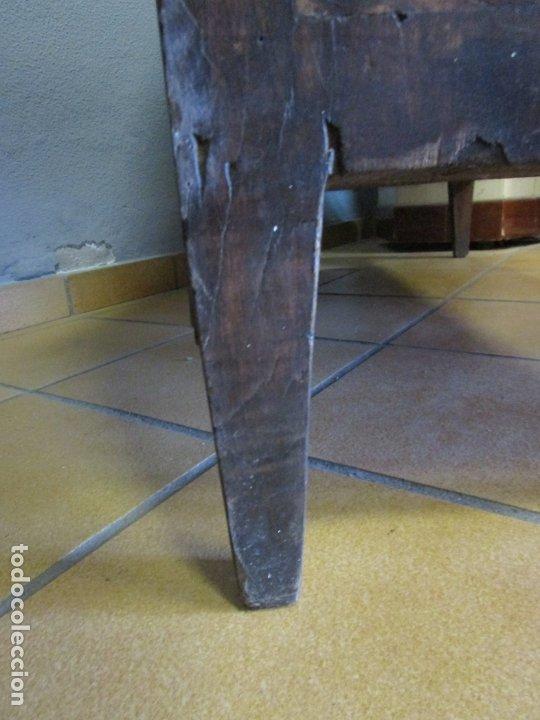Antigüedades: Antiguo Escritorio Luis XVI, Francia - Canterano, Buró - Madera de Nogal - Finales S. XVIII - Foto 24 - 183232086