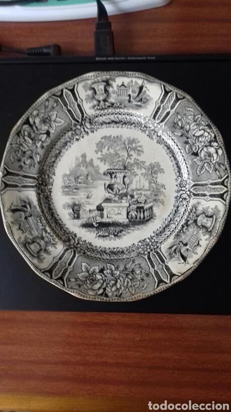 PLATO SARGADELOS GONDOLA 3A ÉPOCA (Antigüedades - Porcelanas y Cerámicas - Sargadelos)