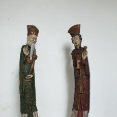 Antigüedades: FIGURAS PORCELANA. Lote 183266763