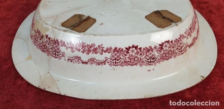 Antigüedades: BANDEJA DE PORCELANA. SERIE ORIENTAL. PICKMAN. SEVILLA. SIGLO XIX. - Foto 13 - 183268530