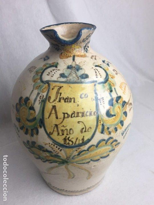 ESPECTACULAR ACEITERA DE 36CM DE ALTO DE PUENTE DE ARZOBISPO (Antigüedades - Porcelanas y Cerámicas - Puente del Arzobispo )