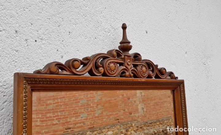Antigüedades: Consola antigua con espejo estilo Luis XVI. Espejo antiguo con consola, entrada recibidor vintage. - Foto 12 - 183270375
