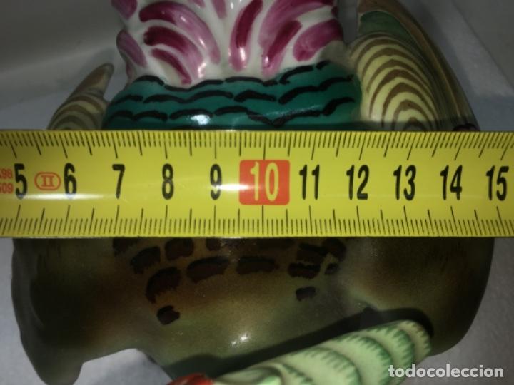 Antigüedades: Faisán Figura en Porcelana o Liza vidriada. Ref100 - Foto 14 - 183275516