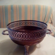 Antigüedades: CENTRO MESA DE LATON . Lote 183282531