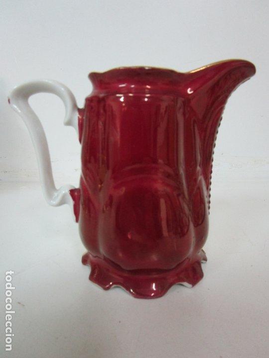 Antigüedades: Bonito Juego de Café o Te - Porcelana Limoges, Francia - 12 Tazas - Fino Dorado - Foto 24 - 183287371