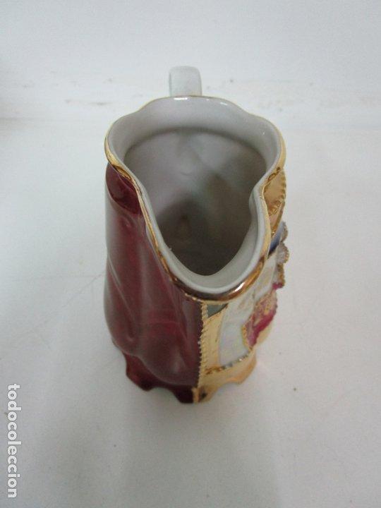 Antigüedades: Bonito Juego de Café o Te - Porcelana Limoges, Francia - 12 Tazas - Fino Dorado - Foto 26 - 183287371