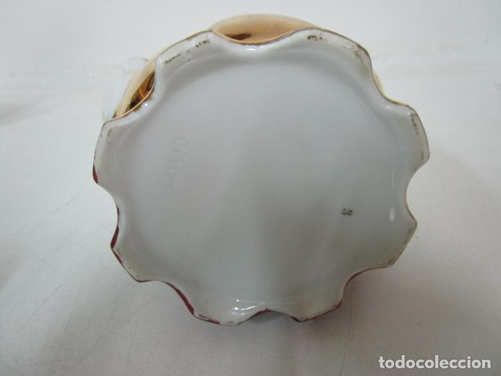 Antigüedades: Bonito Juego de Café o Te - Porcelana Limoges, Francia - 12 Tazas - Fino Dorado - Foto 39 - 183287371