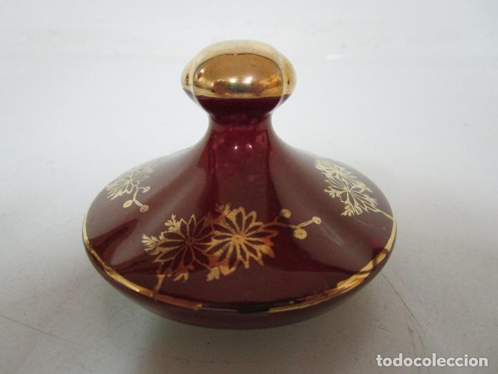 Antigüedades: Bonito Juego de Café o Te - Porcelana Limoges, Francia - 12 Tazas - Fino Dorado - Foto 50 - 183287371