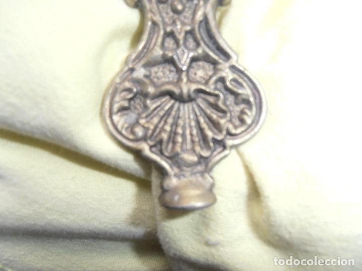 Antigüedades: CRUCIFIJO DE PARED - CRISTO DE BRONCE - Foto 11 - 148063462