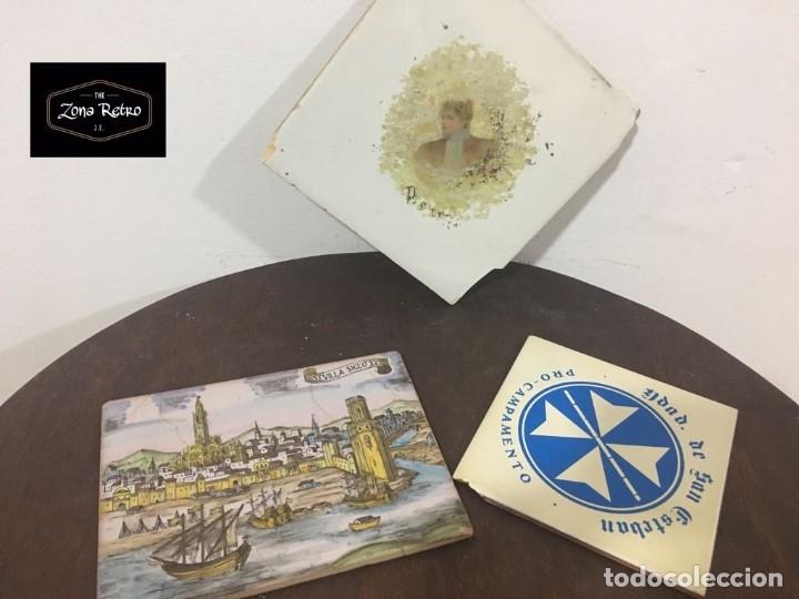 AZULEJOS (Antigüedades - Porcelanas y Cerámicas - Azulejos)