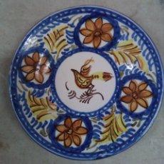 Antiquités: PEQUEÑO PLATO DE MANISES S.XIX. Lote 183295605