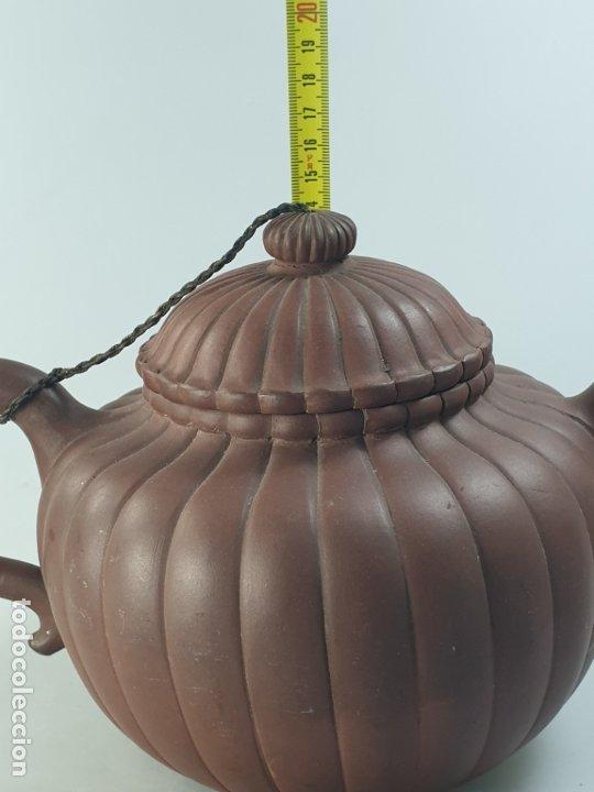 Antigüedades: tetera chino china siglo XIX - Foto 13 - 183296671