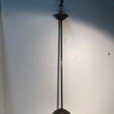 Antigüedades: LAMPARA O GLOBO DE TECHO DE OPALINA BLANCA ANTIGUA.. Lote 183298473
